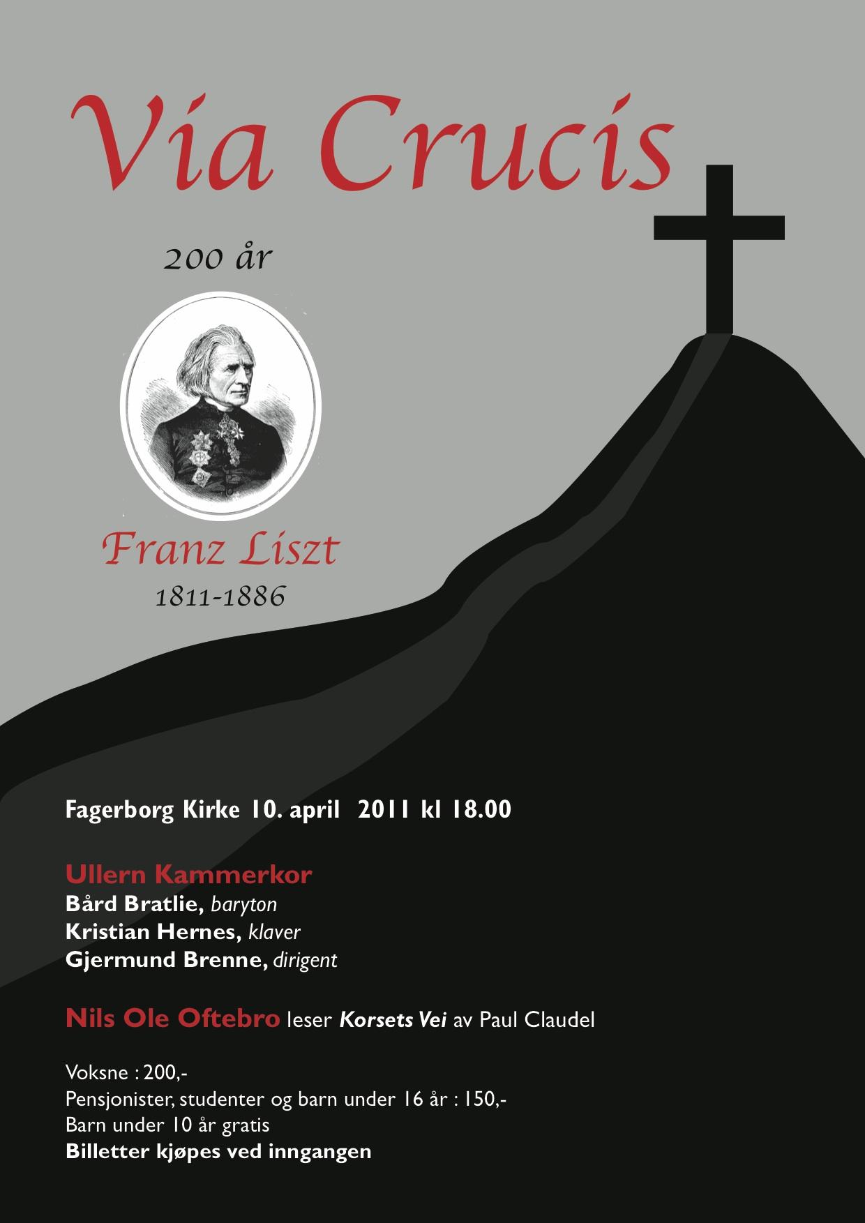 Plakat Liszt