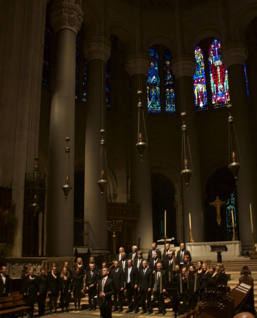 St. John the Divine i New York, mai 2014