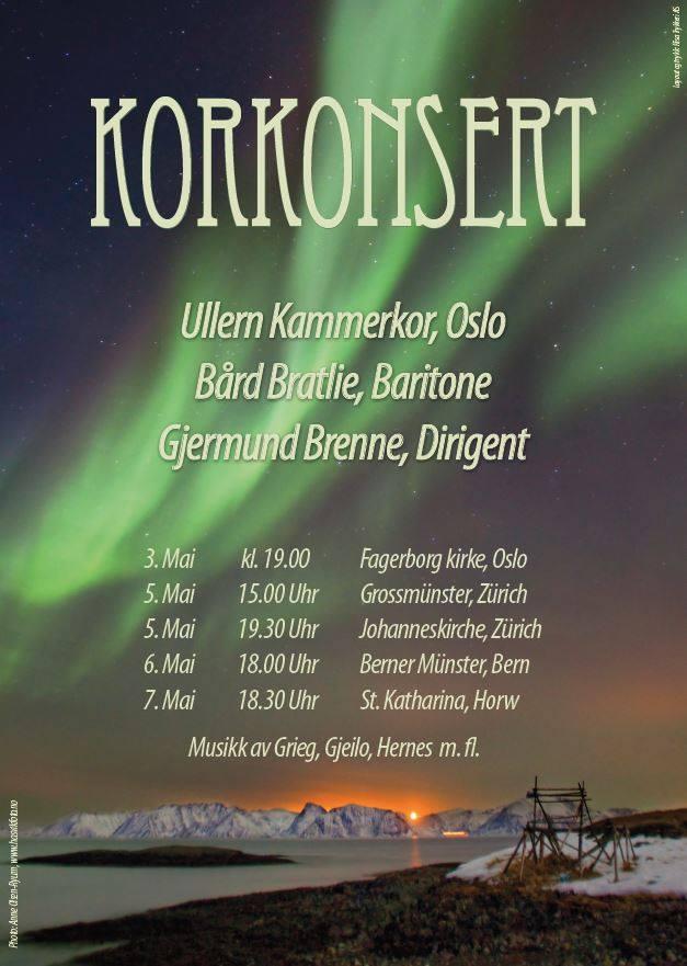 Konsertturné Sveits 2016!